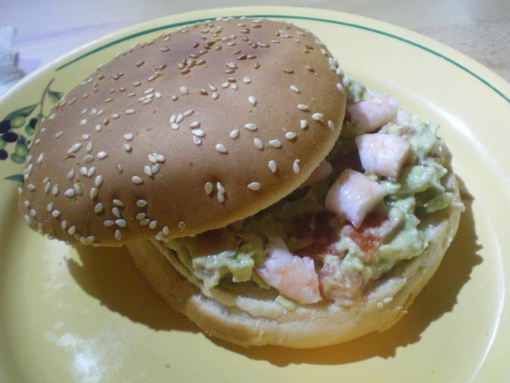Hamburger Mexicain dans cuisine IMGP1203-1024x768